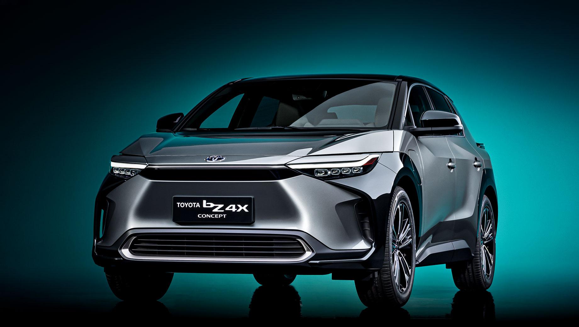 Концепт Toyota bZ4X открыл новую серию электрокаров