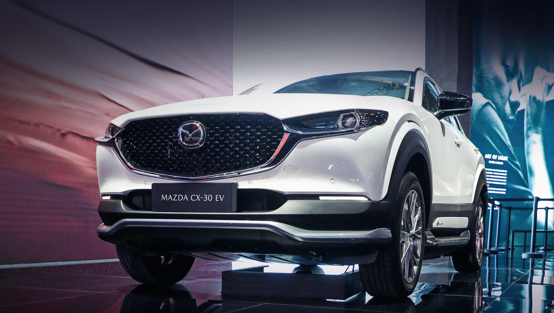 Mazda CX-30 перешла на электротягу для китайского рынка