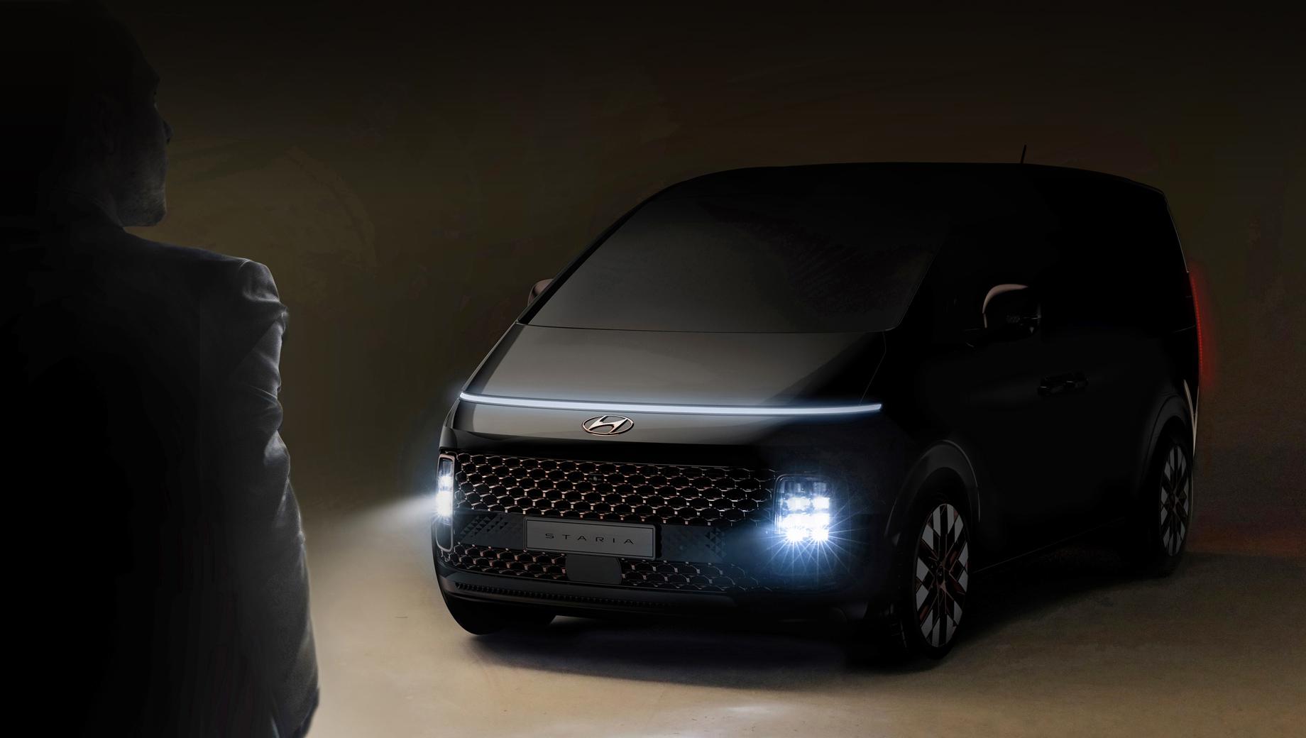 Минивэн Hyundai Staria объявлен компанией футуристичным