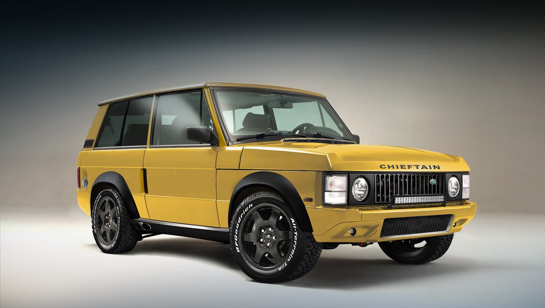 Range Rover Chieftain стал мощнее и лишился пары дверей