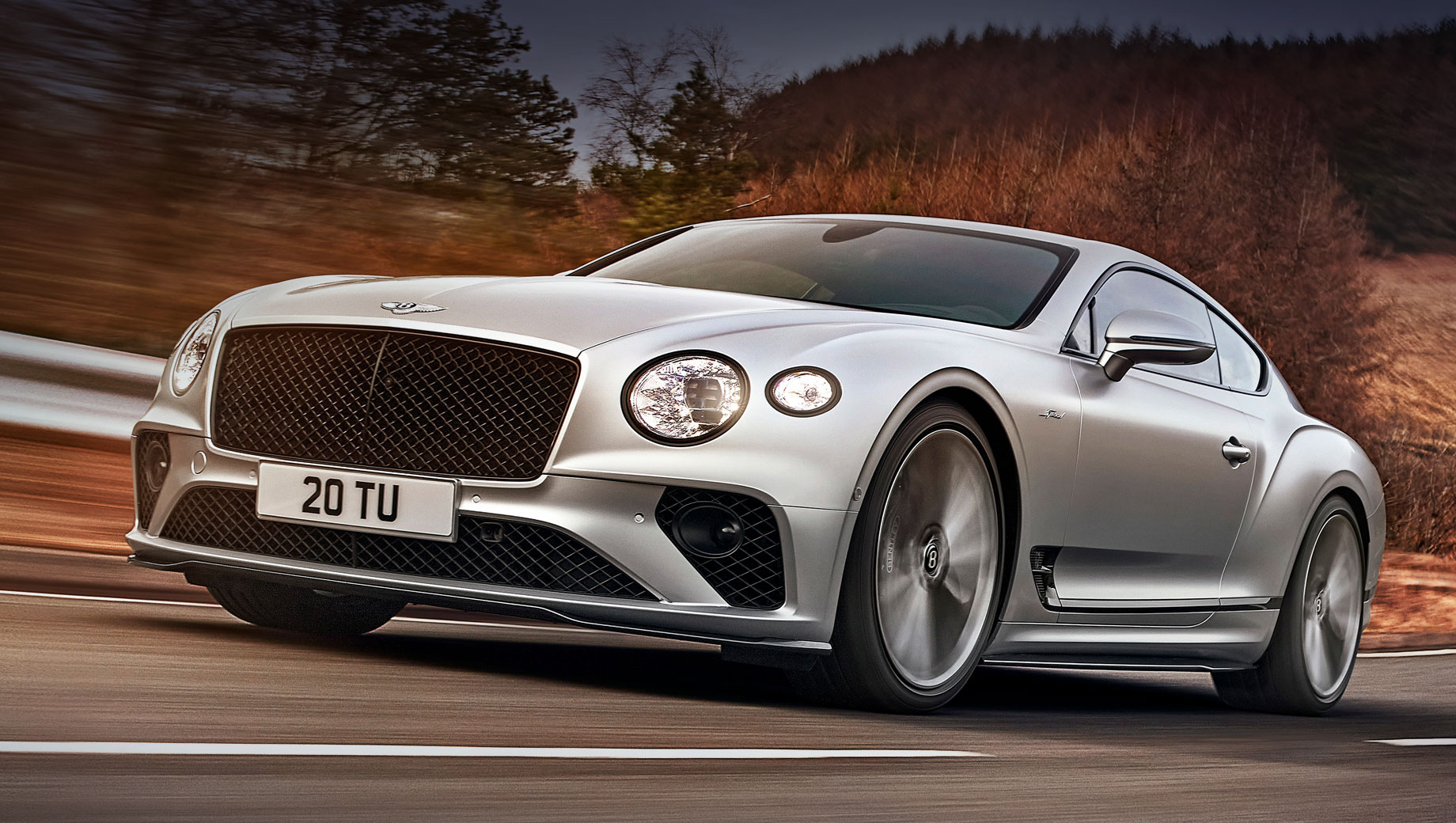 Bentley Continental GT Speed сделал упор на управляемость
