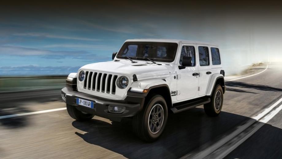 Jeep Wrangler 80th Anniversary стартует в России в мае