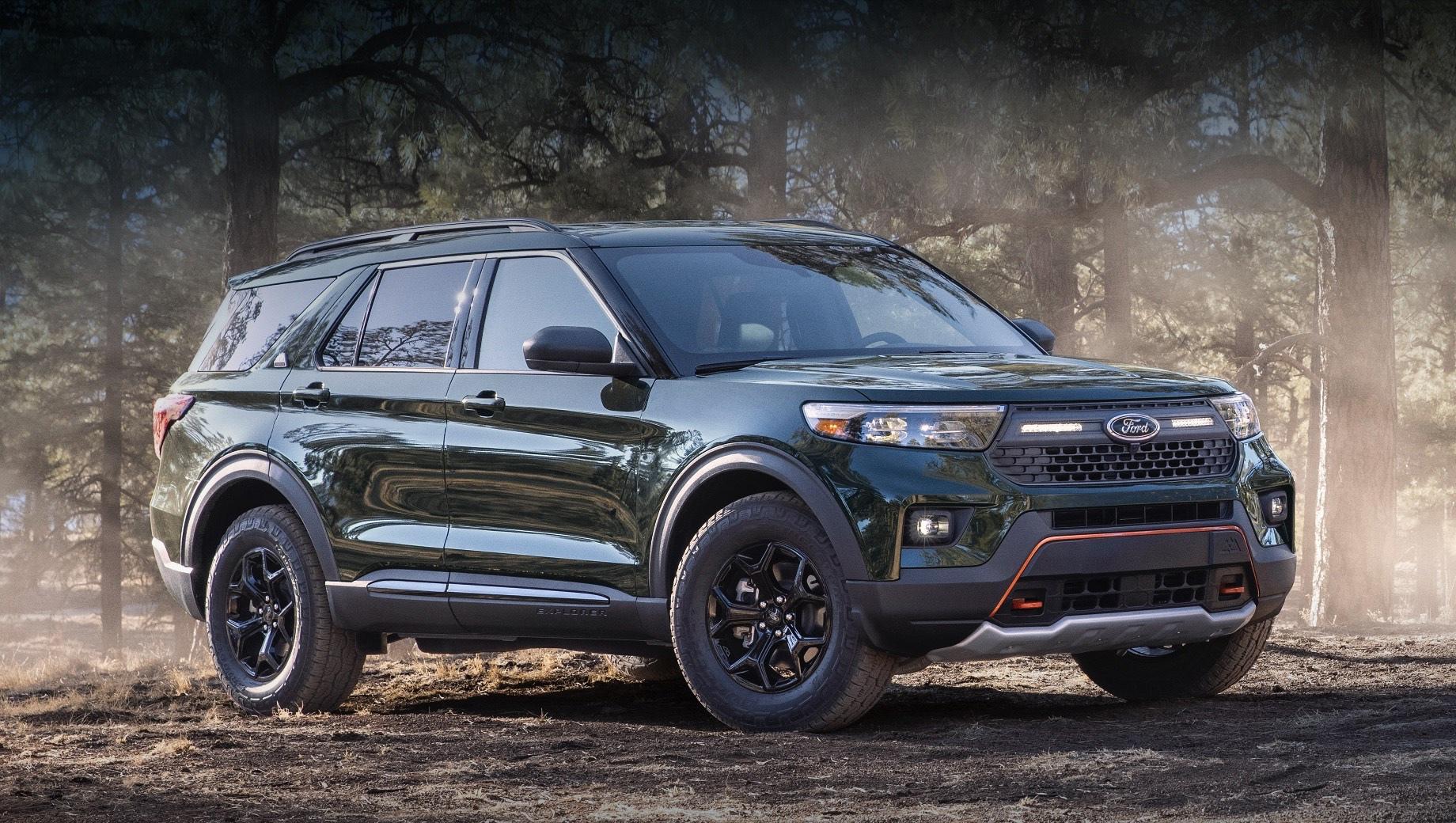 Американский Ford Explorer отправится на покорение бездорожья