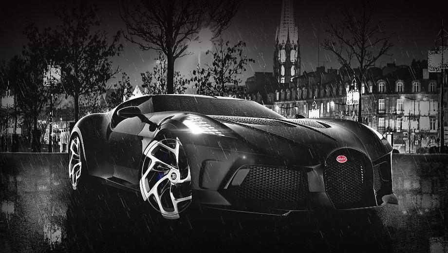 Bugatti La Voiture Noire отпразднует второй дебют в конце мая
