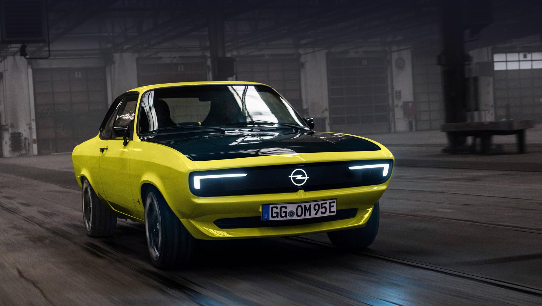Opel Manta GSe ElektroMOD совместил прошлое и будущее