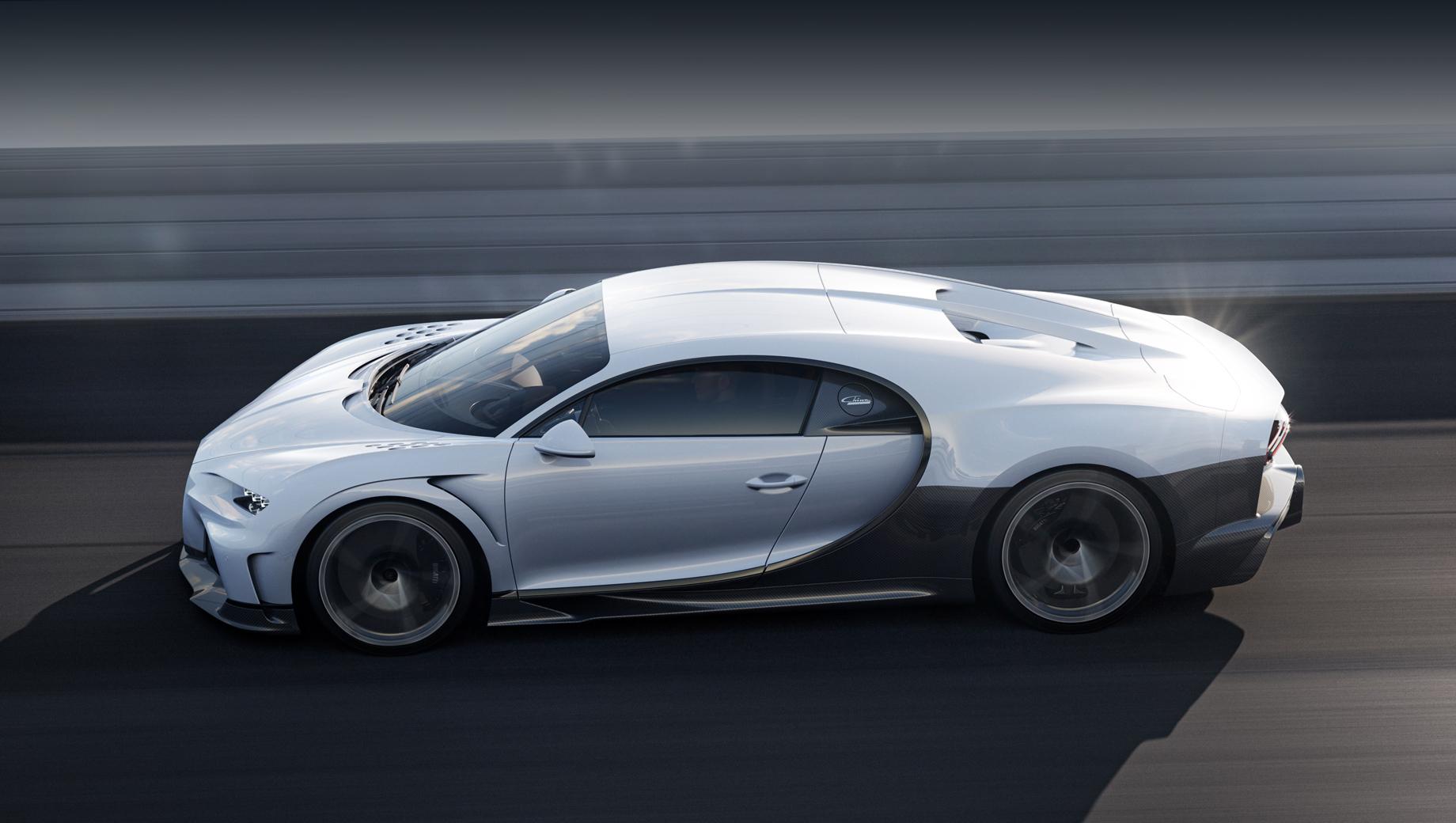 Bugatti Chiron Super Sport выйдет ограниченным тиражом