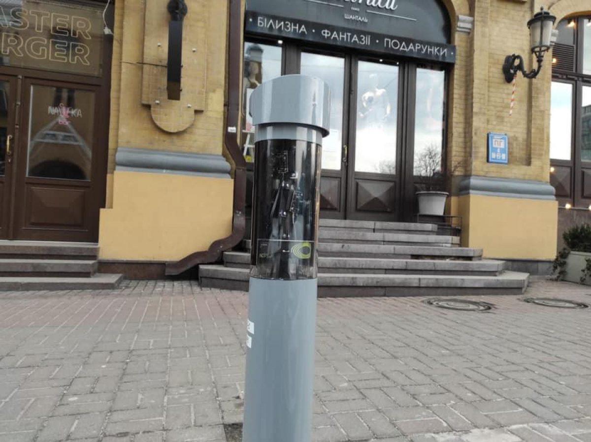 Тестовая система автофиксации нарушений правил парковки начала работать в Киеве