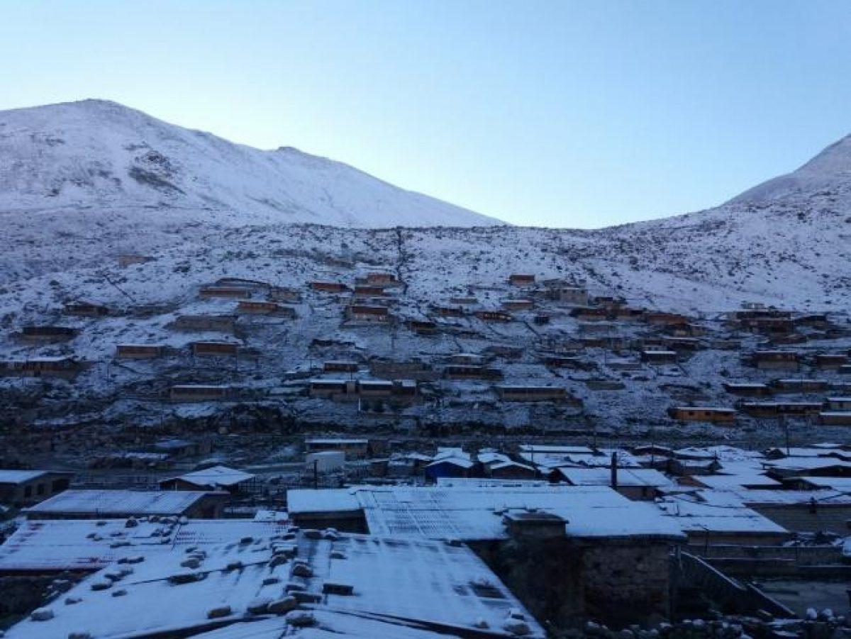 В Турции неожиданно выпал снег
