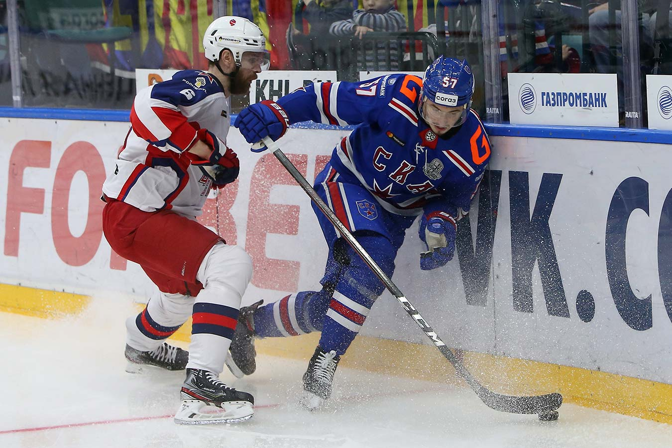 ЦСКА обыграл СКА в третьем матче. Московские армейцы ведут в серии — 3-0