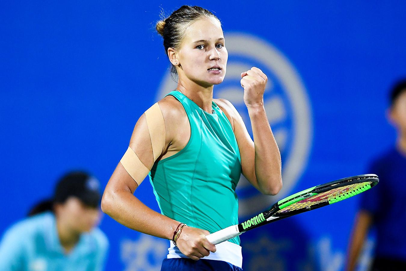 Кудерметова пробилась в полуфинал турнира в Стамбуле, где сразится с Мертенс