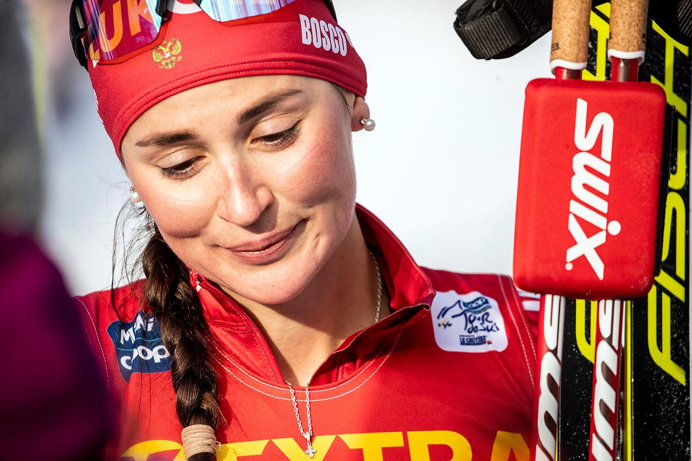 Юлия Ступак выиграла классический масс-старт в финале Кубка мира