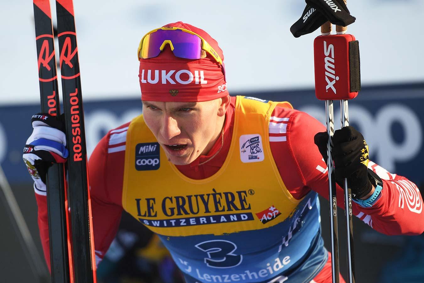 Большунов рассказал, почему не общается с лыжником Йони Мяки после скандальной эстафеты