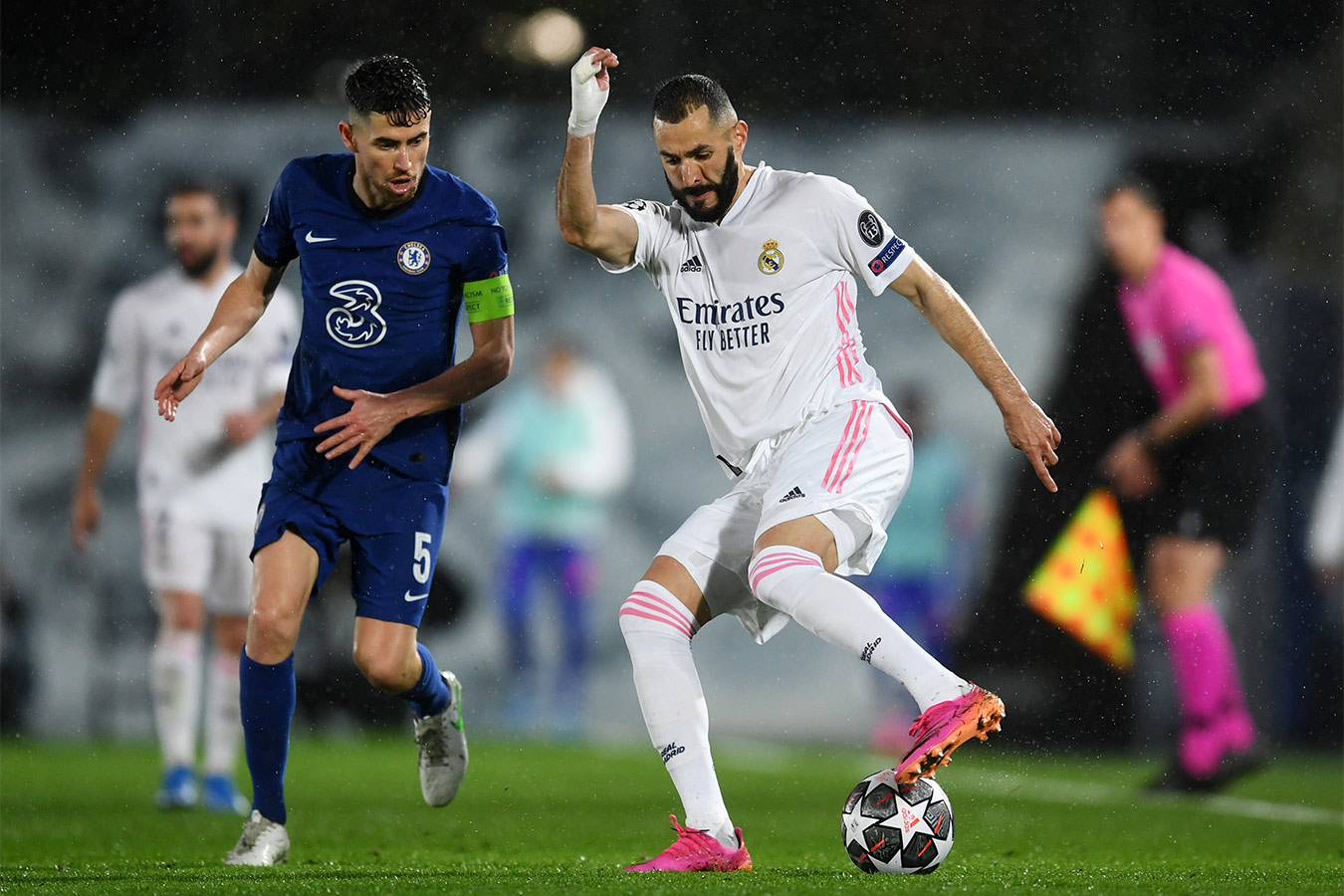 «Реал» и «Челси» сыграли вничью в первом матче 1/2 финала Лиги чемпионов