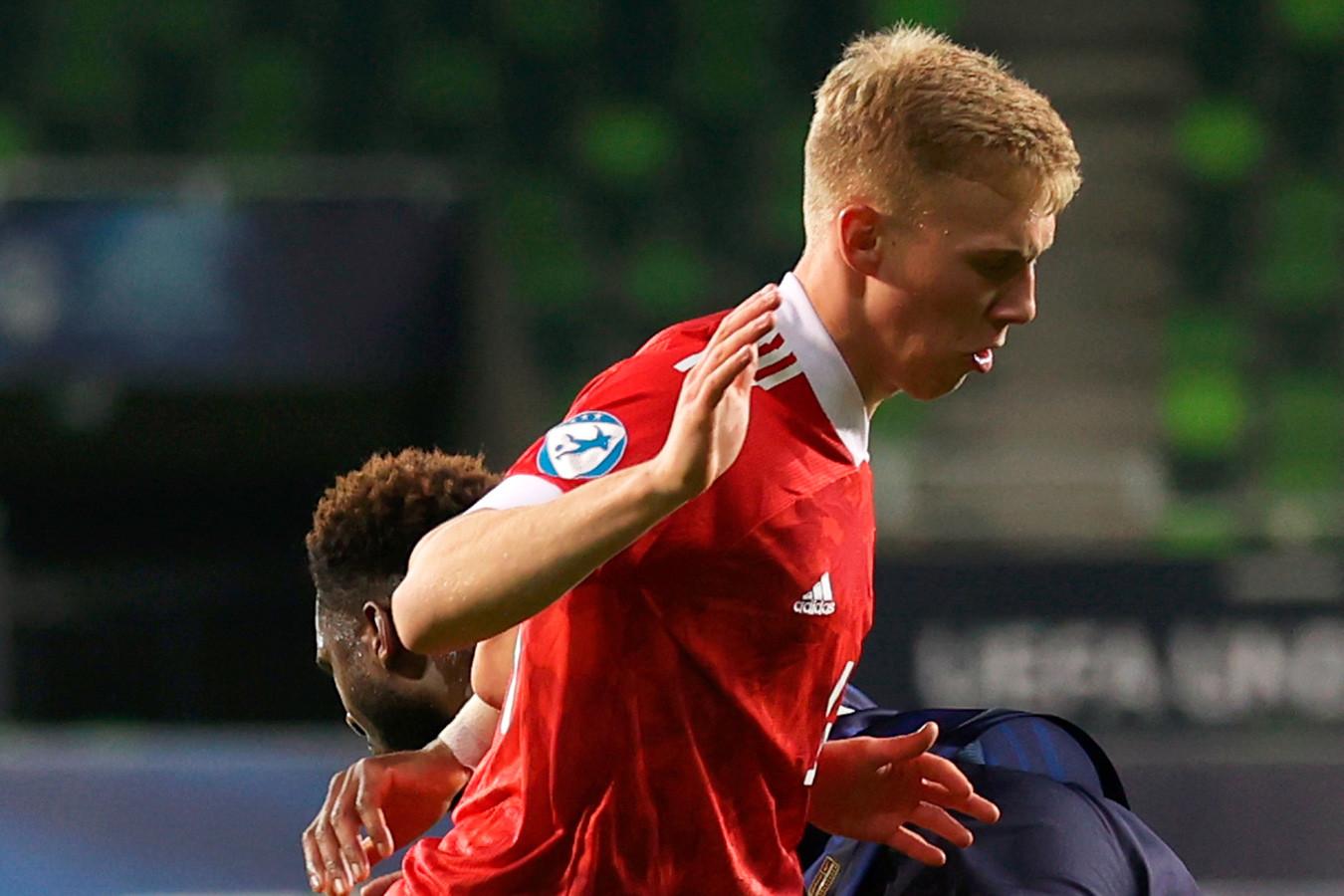 Павел Маслов покинул расположение молодёжной сборной России