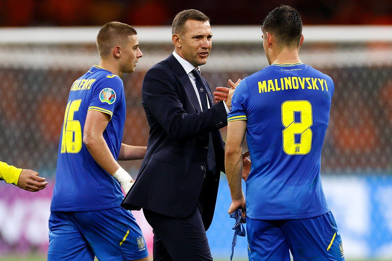 Андрей Шевченко опубликовал пост в «Инстаграме» после поражения Украины на старте Евро