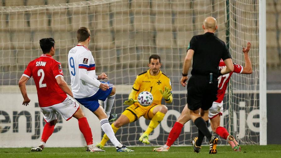 Семенов - об игре с Мальтой: не ожидали от них такого футбола