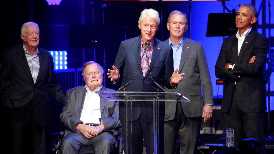 Буш, Клинтон и Обама захотели публично сделать прививки от коронавируса