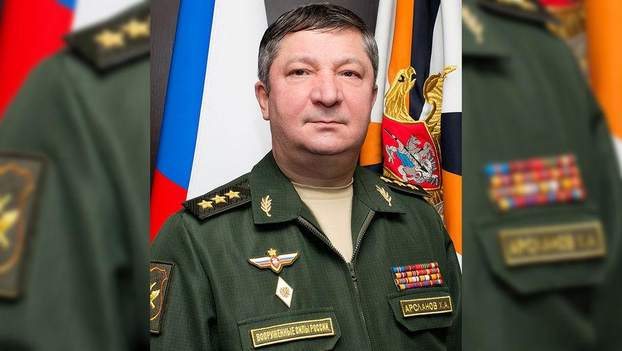 Центральный аппарат СК получил дело экс-замглавы Генштаба ВС РФ Арсланова