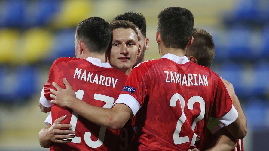 Россия лидирует в группе после первого тура молодежного ЧЕ