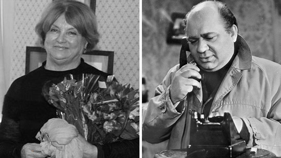 Умерла 85-летняя вдова Евгения Леонова