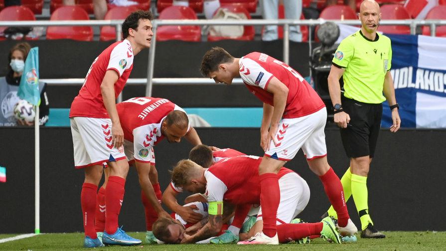 Врач сборной Дании рассказал детали эпизода с потерявшим сознание Эриксеном