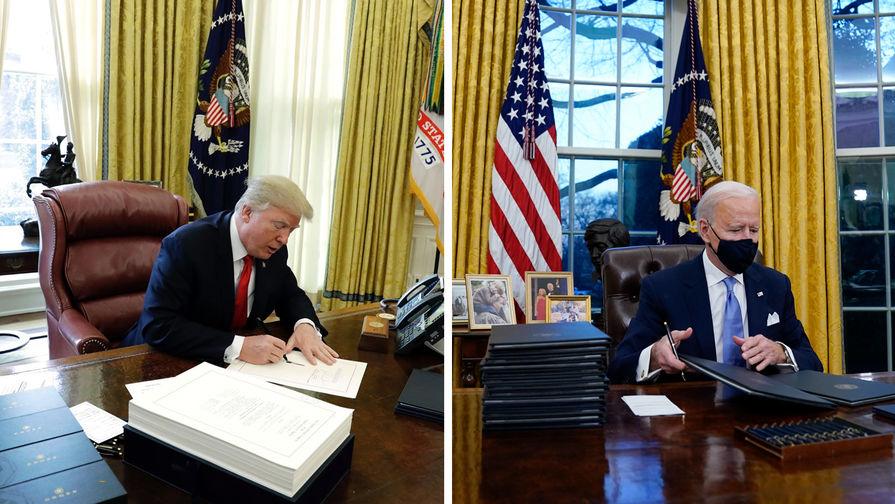 Трамп рассказал, что пожелал Байдену удачи в своем письме