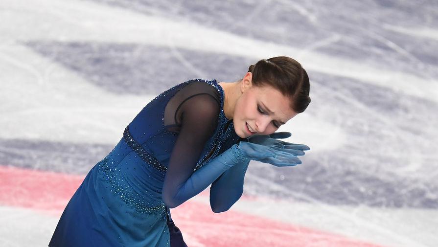 Щербакова лидирует после короткой программы на чемпионате мира