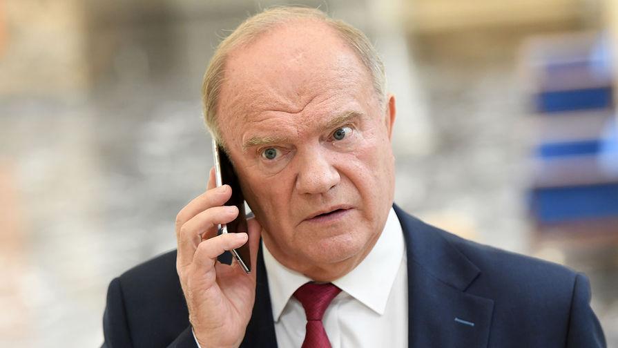 Зюганов сожалеет о союзе Прилепина со 'Справедливой Россией'