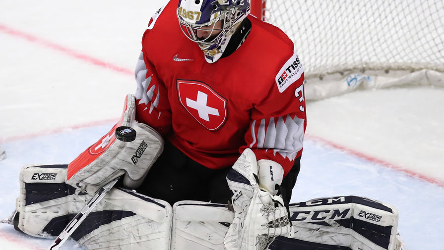 Сборная Швейцарии переиграла датчан в матче чемпионата мира по хоккею