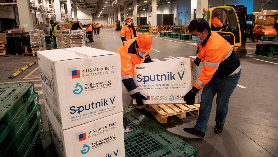 Россия доставит 'Спутник V' в Индию