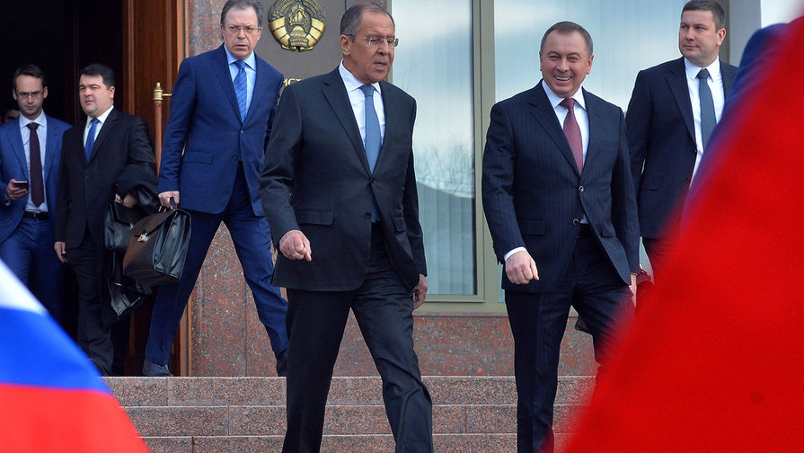 Лавров провел переговоры с главой МИД Белоруссии