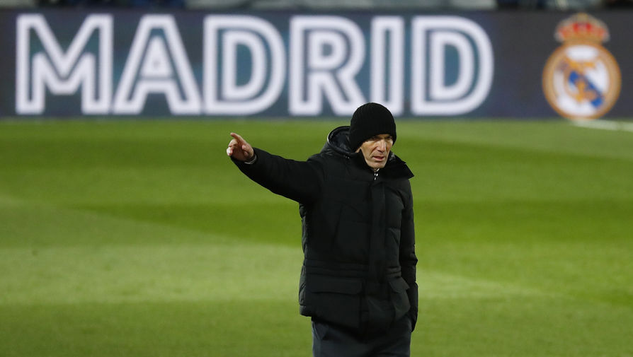 Зидан гордится игроками 'Реала' после победы над 'Ливерпулем'