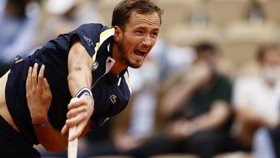 Даниил Медведев надеется на поддержку французов в 1/4 финала 'Ролан Гаррос'