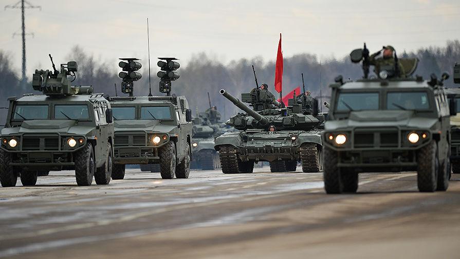Первая сводная тренировка парада Победы прошла в Подмосковье