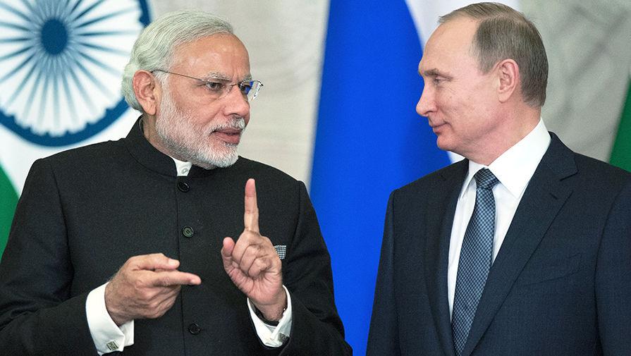 Путин сообщил Моди о решении предоставить экстренную гуманитарную помощь Индии