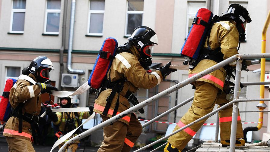 В Коврове произошел пожар рядом с заводом имени Дегтярева