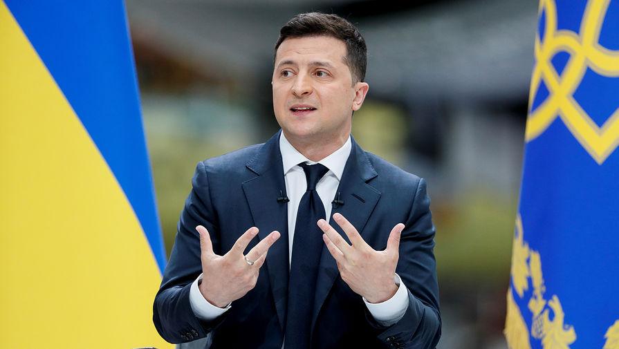 Зеленский продлил санкции против глав Крыма, ДНР и ЛНР