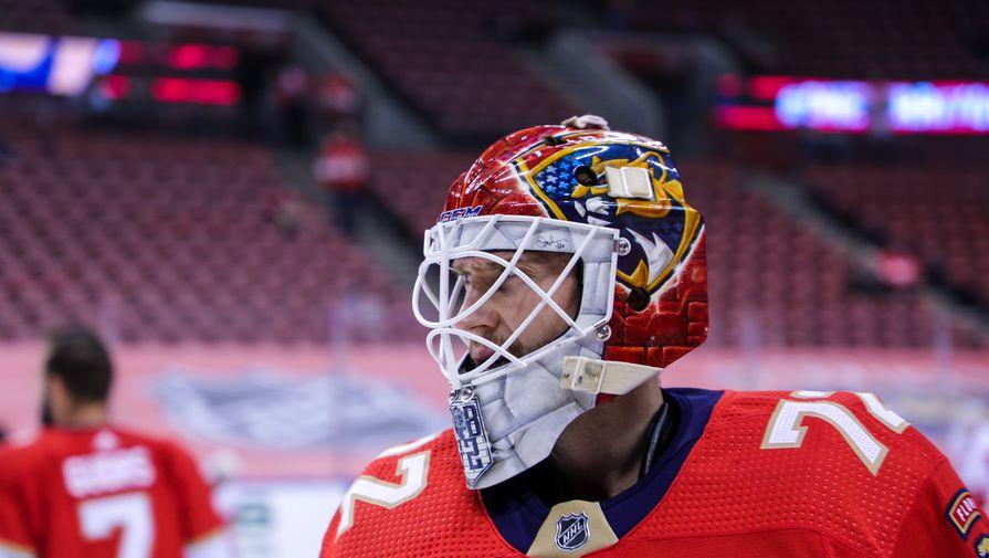 Вратарь 'Флориды' Бобровский остался в восторге от подарка в честь 500 матчей в НХЛ