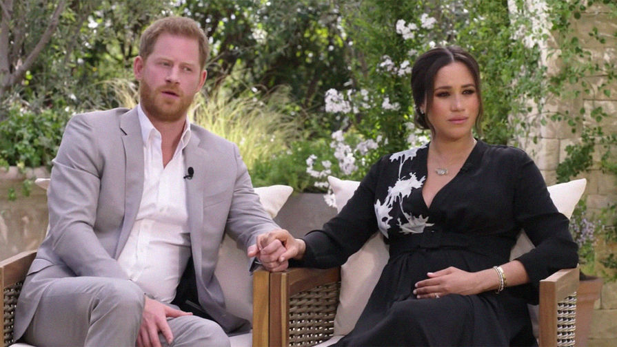 Почти половина британцев осудила принца Гарри и Меган Маркл за интервью