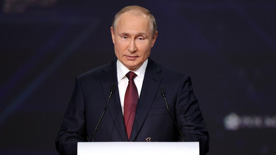 Путин заявил, что опасность вспышек эпидемии остается при отсутствии доступа к вакцинам