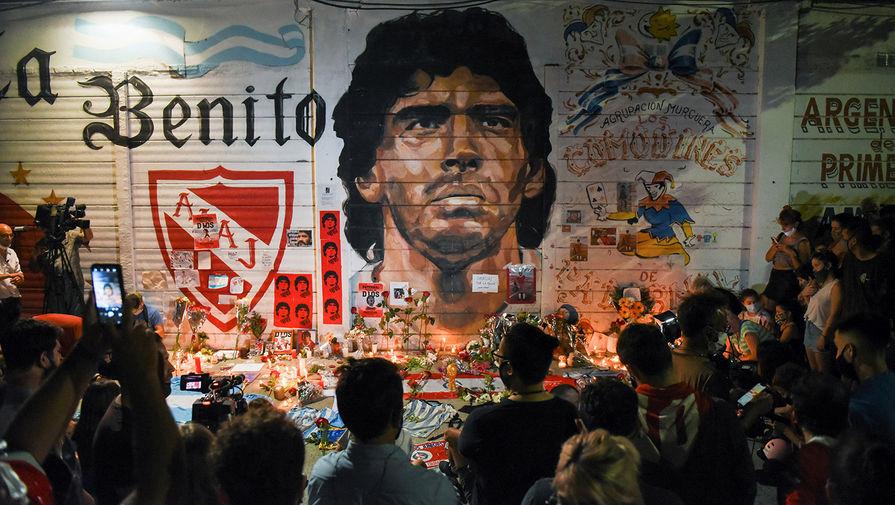 Стадион 'Наполи' переименуют в честь Марадоны