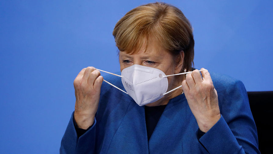 Bild: Меркель отменила запись на вакцинацию от COVID-19