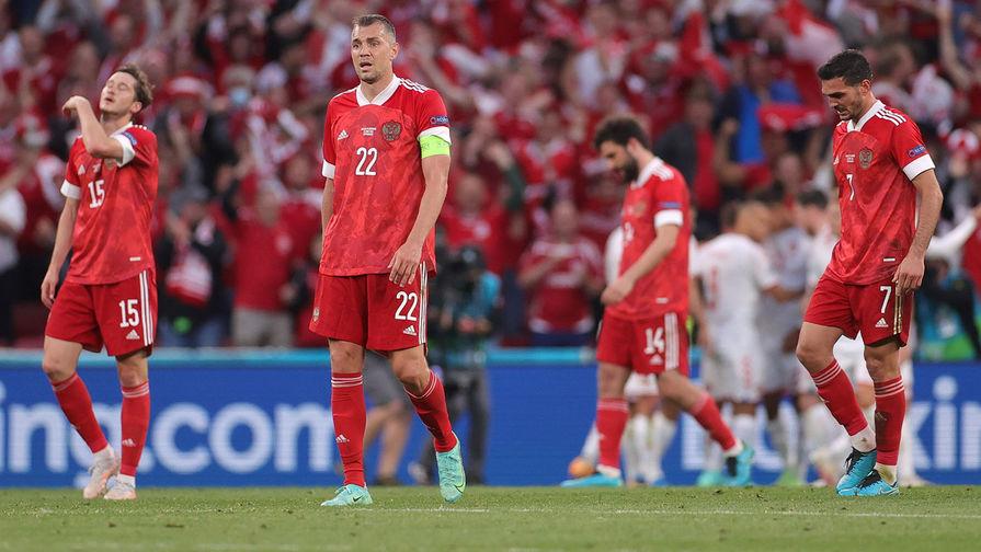 Дзюба заявил, что в матче с датчанами сборная России 'обкакалась'