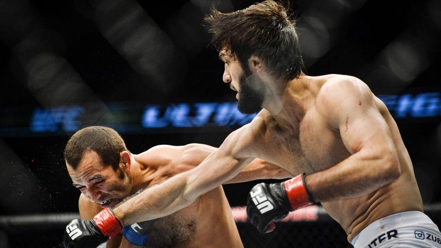 Поединок российского бойца Тухугова в UFC отменен