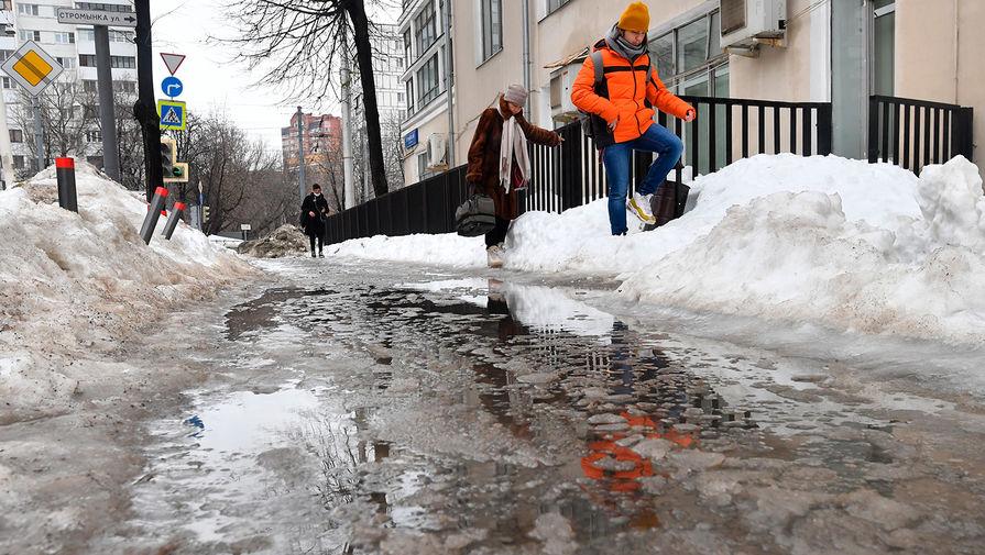 В Москве во вторник ожидается до +5°С