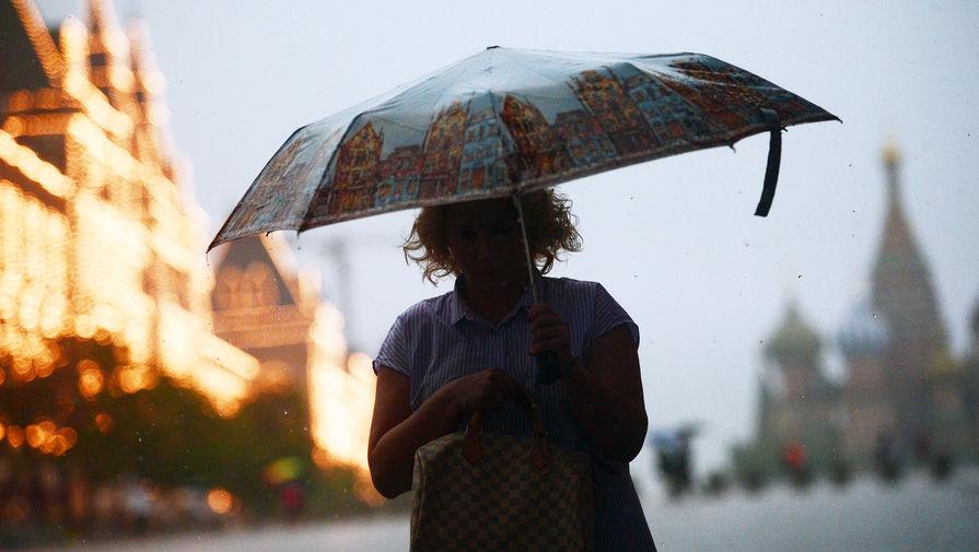 В Москве в четверг ожидается до +21°С и гроза