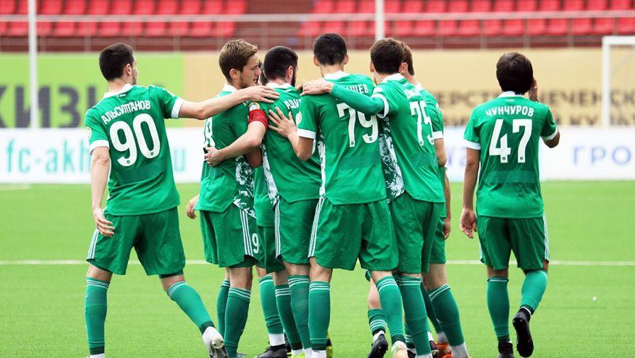'Ахмат' отстранил от тренировок участвовавших в драке футболистов
