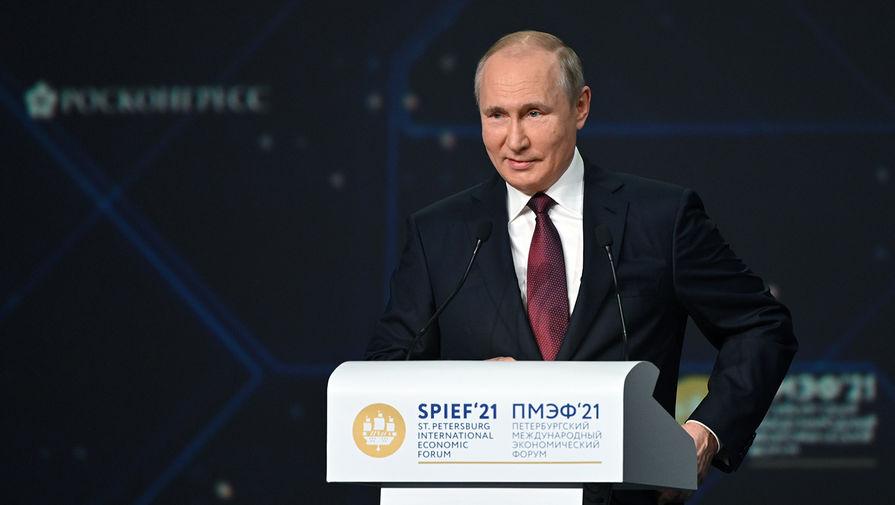 Путин отметил прогресс в борьбе с бюрократией в экономике РФ