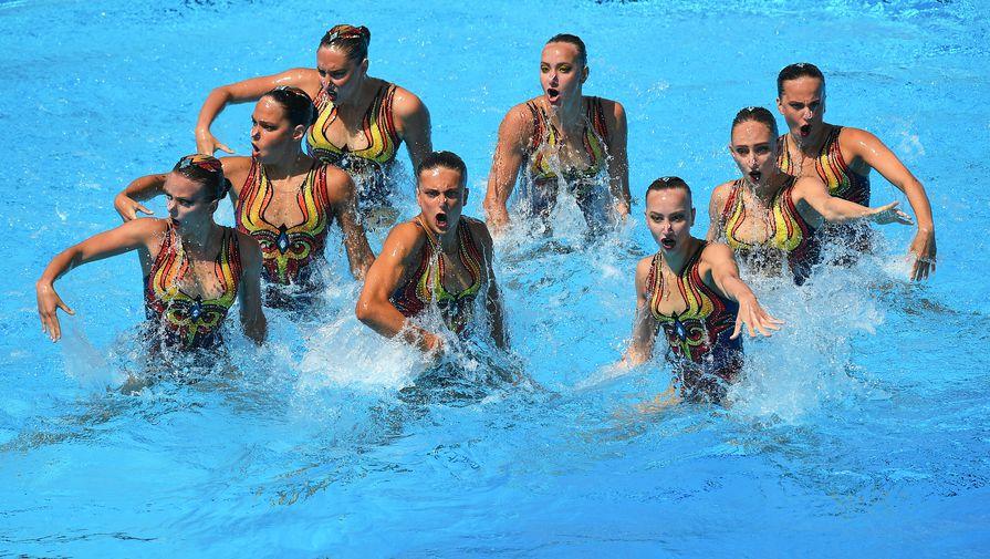 Россия выиграла ЧЕ по синхронному плаванию в технической программе