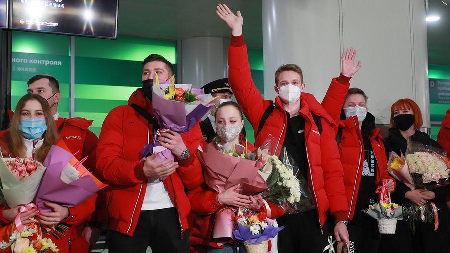 Россия впервые победила на командном чемпионате мира по фигурному катанию